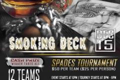Smoking-Deck-Spades-Trounament